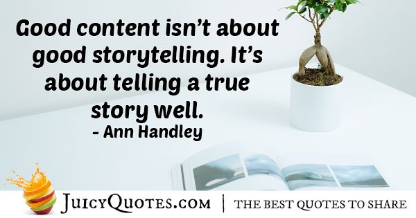 Marketing With Truth Quote