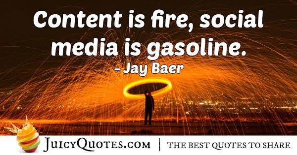 Content and Marketing Quote