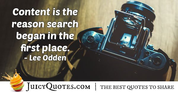 Marketing and Content Quote