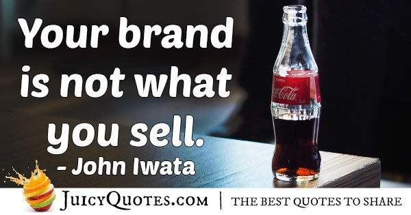 Marketing Brand Quote