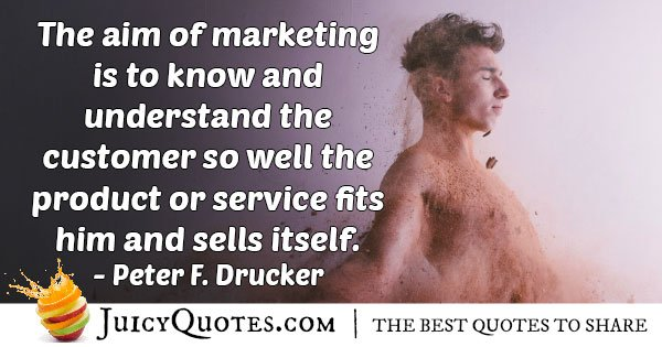 Marketing To The Consumer Quote