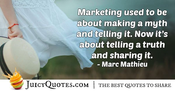 Marketing Truth Quote