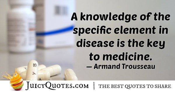 Key To Medicine Quote