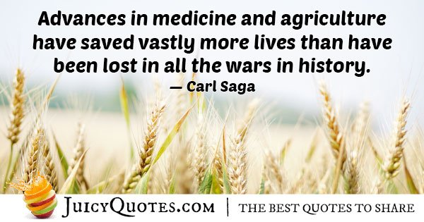 Advances in Medicine Quote