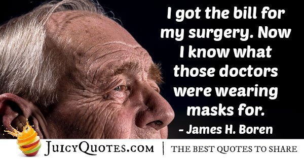 Medicine and Surgery Quote