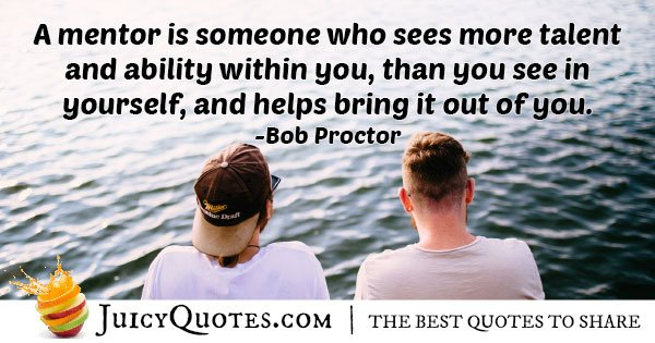 Mentors Sees Ability Quote