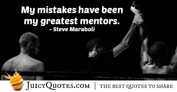 Mistakes and Mentors Quote