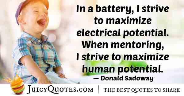 Mentoring Human Potential Quote