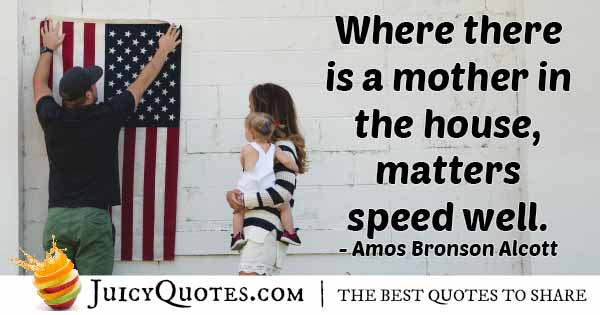 Mom in The House Quote