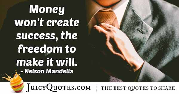 Freedom and Money Quote