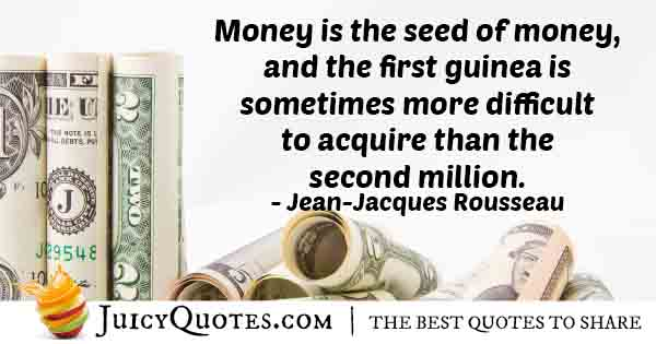 Money Seeds Quote