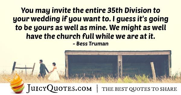 Big Wedding Quote