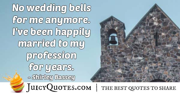 Wedding For Profession Quote