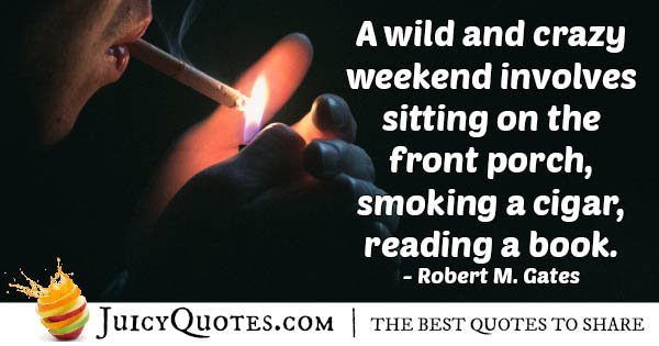 Wild Weekend Quote