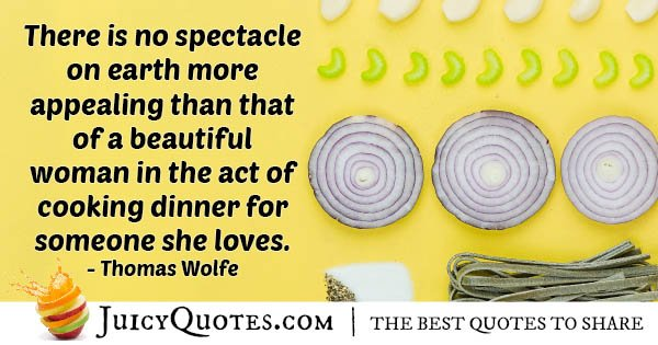 Wife Cooking Quote