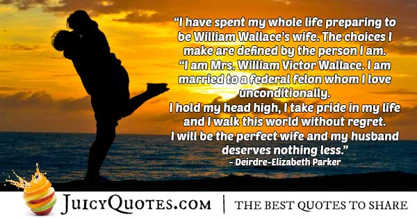 The Perfect Wife Quote
