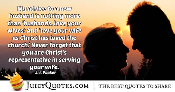 Love Your Wife Quote