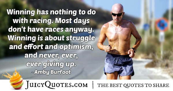 Winning And Optimisim Quote