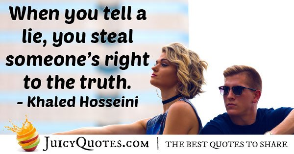 Dishonesty and Stealing Quote