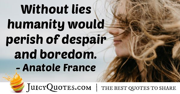 Without Dishonesty Quote