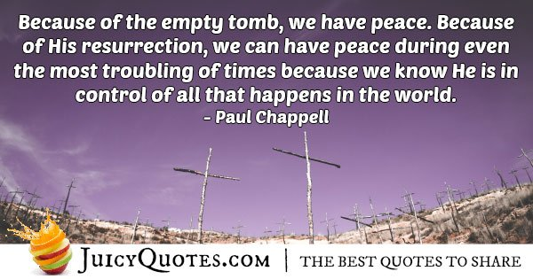 Easter And Empty Tomb Quote