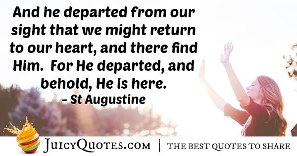 Easter Return to Our Heart Quote