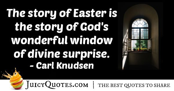 Easter and God's Window Quote