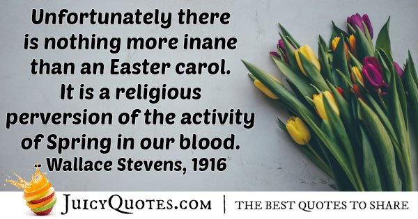 Easter Carol Quote