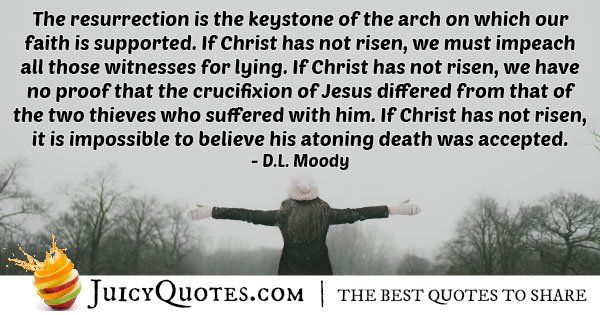 Resurrection of Easter Quote