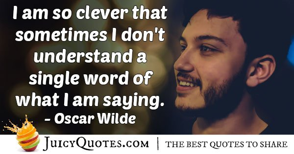 Famous Clever Quote