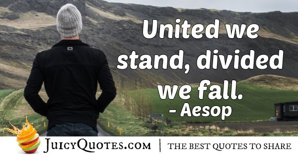 Famous United Quote