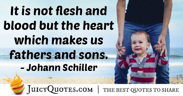 Heart Of Fathers Day Quote