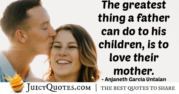 Fathers Love Quote