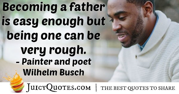 Becoming A Father Quote