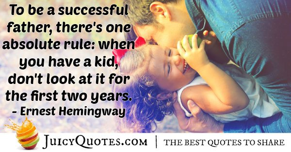 Successful Fathers Quote