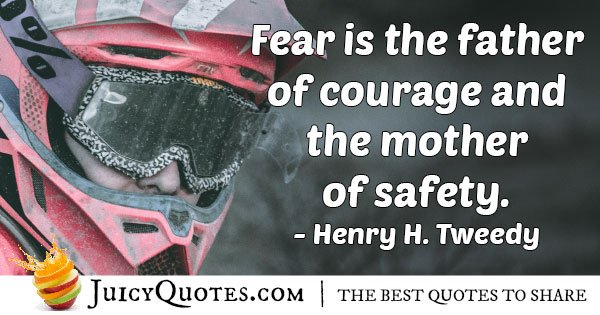 Fear is the Father Quote