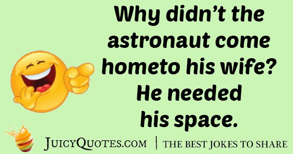 Bad Astronaut Joke