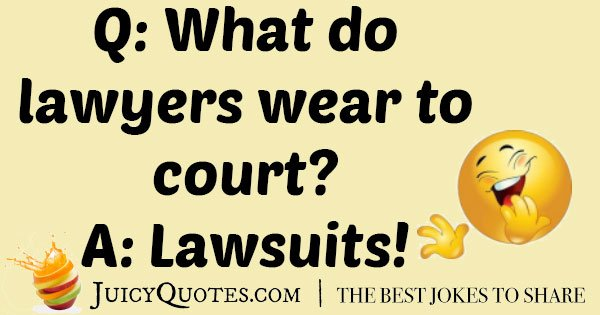 Best Lawyer Joke