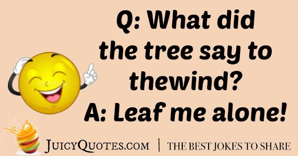 Best Tree Joke