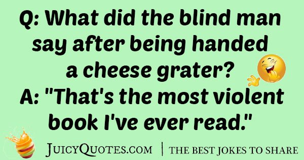 Cheese Grater Joke