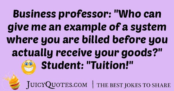 Business College Joke