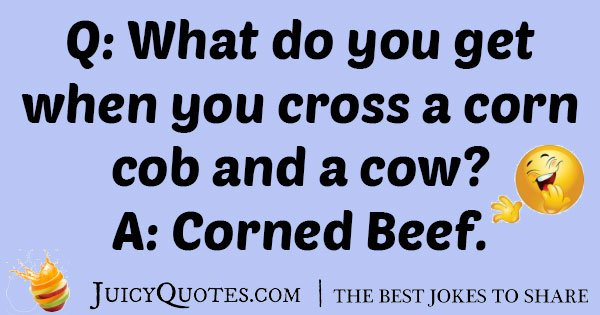 Corn and Cow Joke