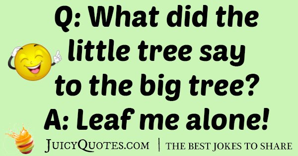 Little Tree Joke