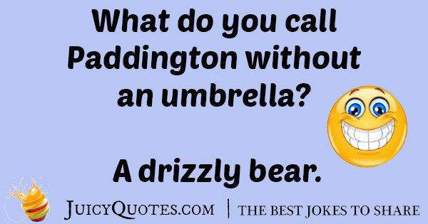 Paddington Umbrella Joke