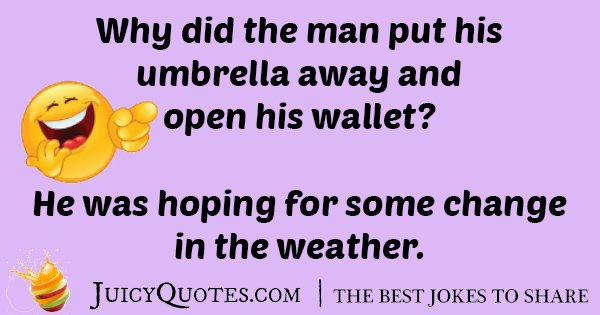 Umbrella Man Joke