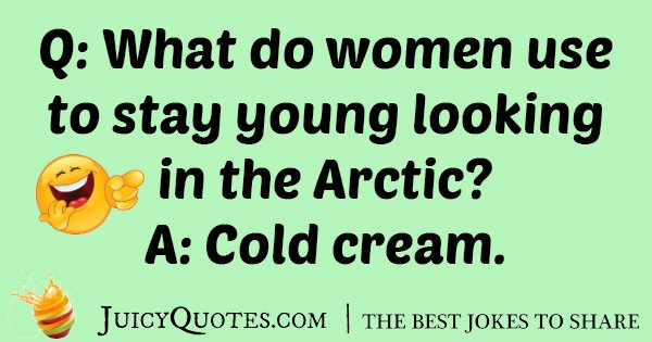 Young Artic Woman Joke