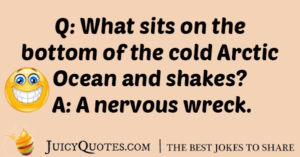 Cold Artic Ocean Joke