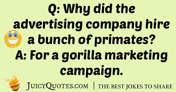 Hire Primates Joke
