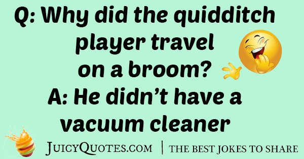 Quidditch Player Joke