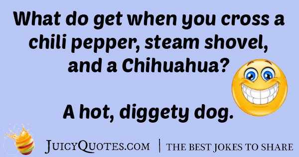 Cross A Hotdog Joke